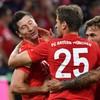 Lewandowski brace spares Bayern's blushes in opening night draw