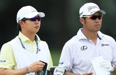 Matsuyama breaks Medinah course record while McIlroy moves up the leaderboard