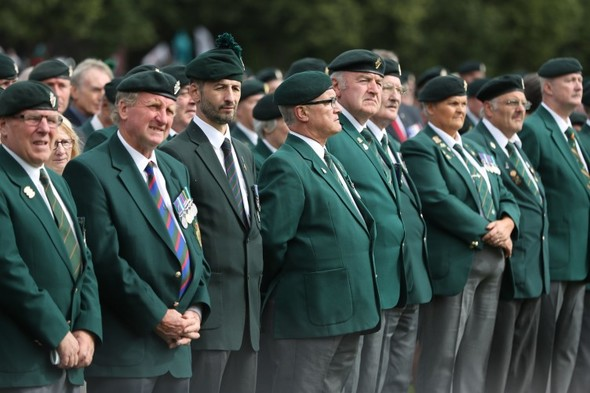 Veterans commemorate 50th anniversary of British Army deployment in Northern Ireland