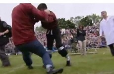 Hundreds of people flocked to the shin-kicking championships? Sure, why not