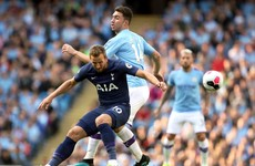 LIVE: Man City v Tottenham, Premier League