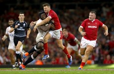 Dan Biggar makes his point against England as Wales go top of the world for the first time