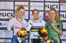 Teenage star Gillespie wins brilliant bronze at Junior Track World Championships