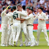 Cummins double stuns England after Smith makes brave 92 in second Test