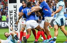 France hammer Scotland in Nice, as 13-try Italy run riot against Russia