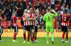 McGoldrick's blushes spared as Blades defeat Crystal Palace