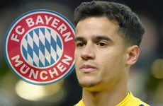 Bayern loan Coutinho from Barca with option to buy for €120m