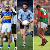 Dunne, Duff, McHale - 11 famous players sent off in All-Ireland finals