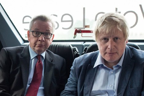 Michael Gove and Boris Johnson.