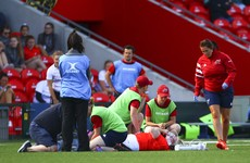 Serious leg injury another devastating blow for Munster's Briggs