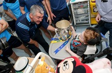 Tipperary's All-Ireland champions visit children's hospitals with Liam MacCarthy