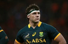 Cruel blow for Ulster's Coetzee as ankle surgery rules him out of World Cup