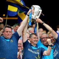 Liam Sheedy: 'To do it again with Eamon by my side is a very special moment'