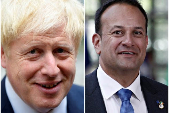 Leo Varadkar spoke with Boris Johnson by phone for almost an hour this evening