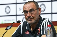 Juventus manager Maurizio Sarri diagnosed with pneumonia
