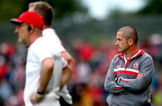 Tyrone legend O'Neill steps down from Mickey Harte's backroom team