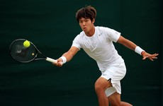 Deaf South Korean tennis player makes history