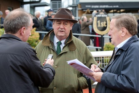Winning trainer Noel Meade will have been a relieved man afterwards.