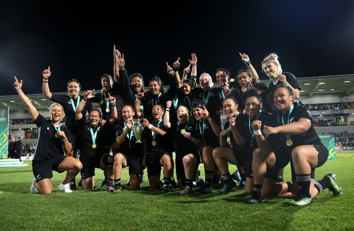 Women S Rugby World Cup Set For Gender Neutral Rebrand The42