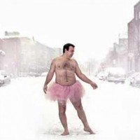 The Tutu Project: Man wears frills for breast cancer