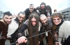 The native Irish population was in centuries of decline before the Vikings came along