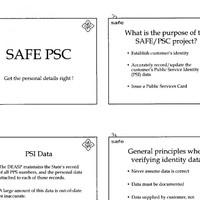 PSC training manuals for civil servants: Facial image matching, 'voice biometrics' and identity tokens