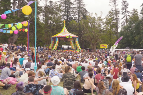 The festival takes place on the August Bank Holiday.