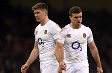 Farrell and Ford in tandem for England against Ireland