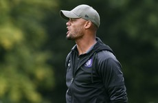 Kompany changes role at Anderlecht after overseeing their worst start in 21 years