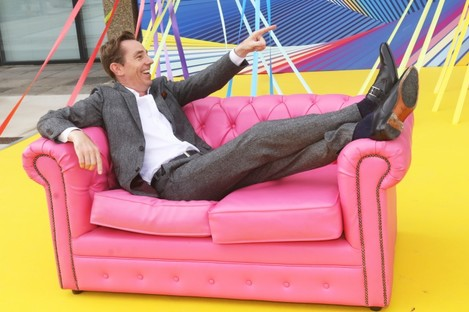 Ryan Tubridy at the launch yesterday.