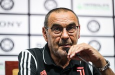 Illness forces Sarri to miss his first two Serie A games with Juventus