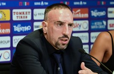 'I am not here to be a rival to Ronaldo but I want to play until 40' - Ribery
