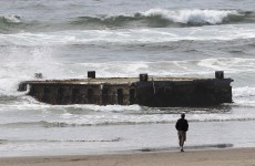 Japanese dock washes up in Oregon a year after tsunami
