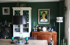 'I have a passion for revamping old furniture': Sarah shares her maximalist and art-filled dining space