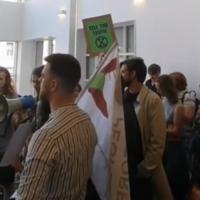 'Ireland has beef with Bolsonaro' - Extinction Rebellion protest enters lobby at Dublin's Brazilian Embassy
