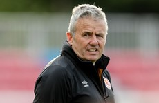Harry Kenny resigns as St Patrick's Athletic manager following FAI Cup exit