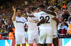 Haller the match-winner as West Ham deepen Watford's woes