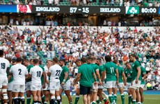 England set to displace Ireland in world rankings after Twickenham trouncing