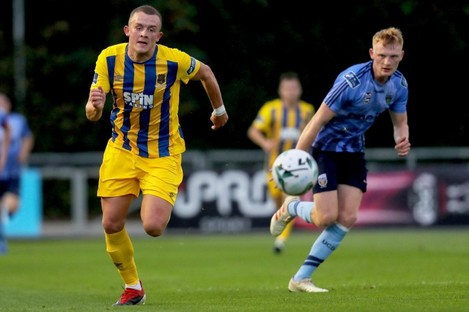 Michael O'Connor (left) was on target for Waterford.
