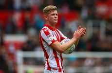 18-year-old Ireland defender captains Stoke City as Potters fall short against Leeds