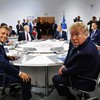 Macron says G7 leaders have agreed on joint statement over Iran