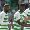Bayo scores twice as Celtic keep pace with Rangers at top of Scottish Premiership