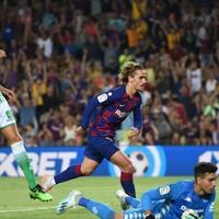 Griezmann dazzles as five-star Barcelona rout Betis