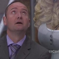 Here's the footage of the ice hockey coach and the porn star you might have missed