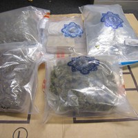 Man arrested and €186,000 worth of drugs seized in Clondalkin