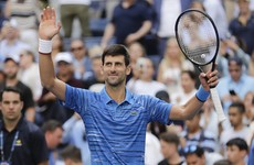 Djokovic coasts into second round at US Open