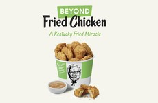 KFC is trying out some 'plant-based chicken nuggets'