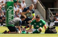 Healy 'bullish' about injury comeback as Ireland carefully manage Sexton and Earls