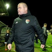 Former interim Cork City boss Cotter leaves club one day after Fenn appointment