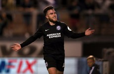 Ireland's Connolly scores vital goal on full senior debut as Brighton progress with late winner
